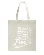 My Home Is The Open Sea where Star Shine Brighter  Tote Bag thumbnail