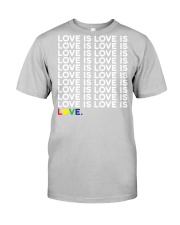 love is love Classic T-Shirt tile