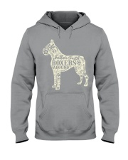 Life is better with boxers around Hooded Sweatshirt thumbnail