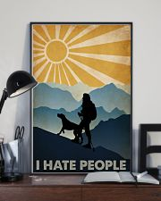 Hiking I Hate People 16x24 Poster lifestyle-poster-2