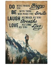 Hiking Laugh Love Live 16x24 Poster front