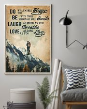 Hiking Laugh Love Live 16x24 Poster lifestyle-poster-1