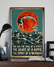 Mermaid She Has The Soul Of A Gypsy 16x24 Poster lifestyle-poster-2