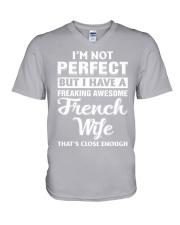 I'm not perfect V-Neck T-Shirt thumbnail