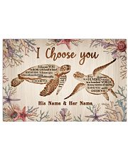 Ocean I Choose You 36x24 Poster front
