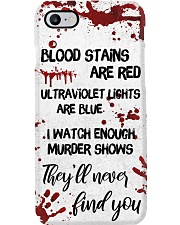 Blood Stains Are Red Phone Case i-phone-8-case
