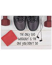 Fitness Only Bad Workout Is The One You Didn't Go 36x24 Poster front