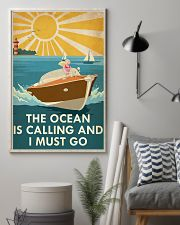The Ocean Is Calling 16x24 Poster lifestyle-poster-1