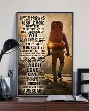 Hiking Laugh Love Live 16x24 Poster lifestyle-poster-2