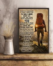 Hiking Laugh Love Live 16x24 Poster lifestyle-poster-3