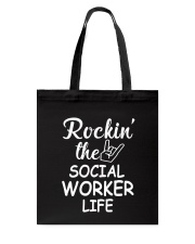 Social worker life Tote Bag thumbnail