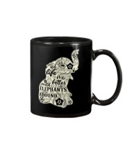 Life is better with elephant around Mug thumbnail
