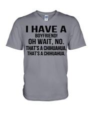I have a boyfriend V-Neck T-Shirt thumbnail