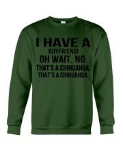 I have a boyfriend Crewneck Sweatshirt thumbnail