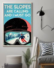 Skiing The Slopes Are Calling 16x24 Poster lifestyle-poster-1