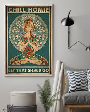 Yoga Chill Homie 16x24 Poster lifestyle-poster-1