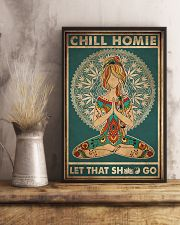 Yoga Chill Homie 16x24 Poster lifestyle-poster-3