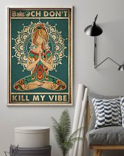 Yoga Kill My Vibe 16x24 Poster lifestyle-poster-1