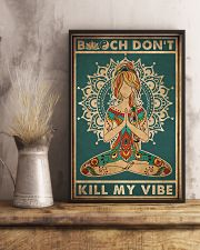 Yoga Kill My Vibe 16x24 Poster lifestyle-poster-3