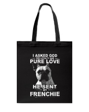 Frenchie Tote Bag thumbnail