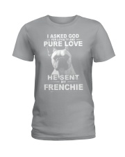 Frenchie Ladies T-Shirt thumbnail