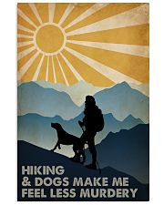 Hiking And Dogs 16x24 Poster front