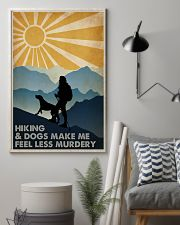 Hiking And Dogs 16x24 Poster lifestyle-poster-1