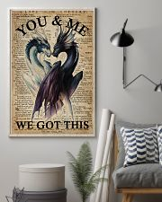 Family You And Me We Got This 16x24 Poster lifestyle-poster-1