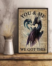 Family You And Me We Got This 16x24 Poster lifestyle-poster-3