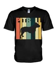 Pitbull V-Neck T-Shirt thumbnail