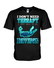 I don't need therapy V-Neck T-Shirt thumbnail