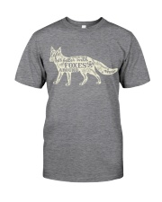 Life is better with foxes around Classic T-Shirt thumbnail