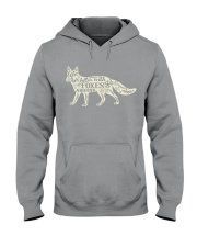 Life is better with foxes around Hooded Sweatshirt thumbnail
