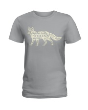 Life is better with foxes around Ladies T-Shirt thumbnail