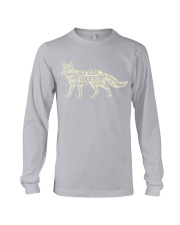 Life is better with foxes around Long Sleeve Tee thumbnail