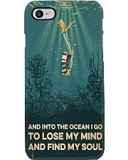 Scuba Find My Soul Phone Case i-phone-8-case