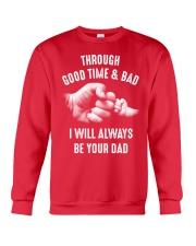 Though good time and bad Crewneck Sweatshirt front