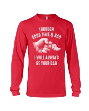 Though good time and bad Long Sleeve Tee front