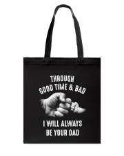 Though good time and bad Tote Bag thumbnail