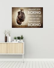 Boxing You Don't Stop Boxing 36x24 Poster poster-landscape-36x24-lifestyle-01