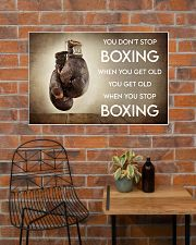 Boxing You Don't Stop Boxing 36x24 Poster poster-landscape-36x24-lifestyle-20