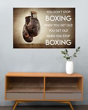 Boxing You Don't Stop Boxing 36x24 Poster poster-landscape-36x24-lifestyle-21