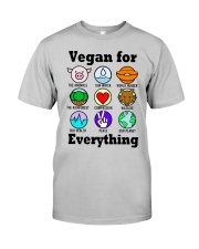 Vegan for everything Classic T-Shirt thumbnail