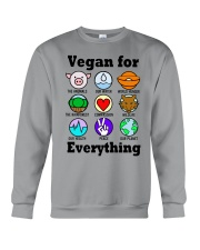 Vegan for everything Crewneck Sweatshirt thumbnail