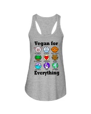 Vegan for everything Ladies Flowy Tank thumbnail