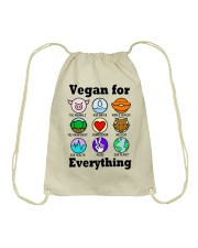 Vegan for everything Drawstring Bag thumbnail