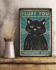 Cat Fluff You 16x24 Poster lifestyle-poster-3