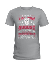 Cat mom Ladies T-Shirt thumbnail