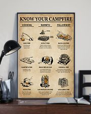 Camping Know Your Campfire 16x24 Poster lifestyle-poster-2