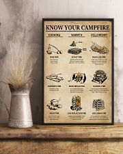 Camping Know Your Campfire 16x24 Poster lifestyle-poster-3